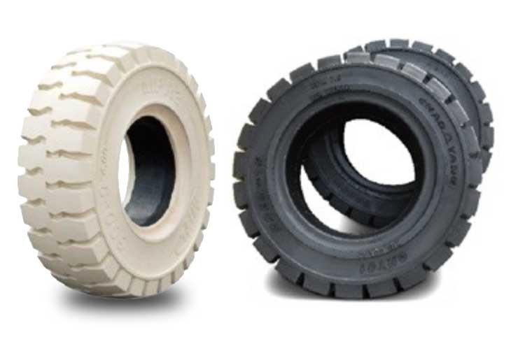 Forklift Tire Replacement & Repair